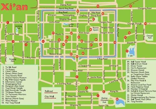 Xian Subway Map Pdf.Xian Maps Xian China Map City Map Xian Street Map Metro Map